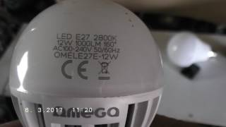 homemade e27 socket led light bulb from old cell phone charger