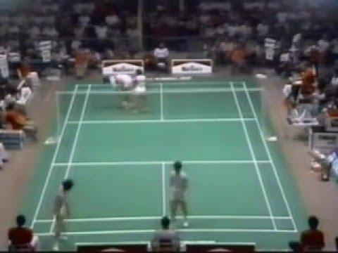 1986 Uber Cup Final-Verawaty and Yanti vs Wu Di Xi 吴迪西 and Lin Ying