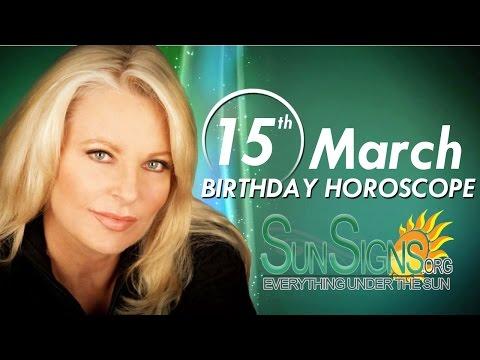 march 15 birthday horoscope personality