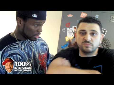 50 cent interview at Power 106 with Dj Vickone
