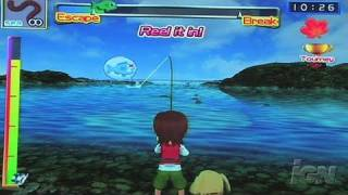 Fishing Master Nintendo Wii Gameplay - Cast Away