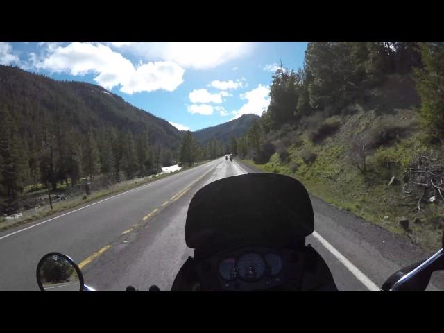 2016 Kawasaki KLR 650 Washington State Motorcycle Adventure Ride Part 3 - 4K