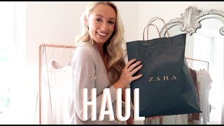 ZARA HAUL & TRY ON  // August Pre-Autumn 2017  // Fashion Mumblr