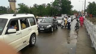 Hoshiarpur bhange cho flood 2018 ! By Discover with Shubam