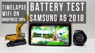 Battery Test Samsung A6 Plus A6+ 2018