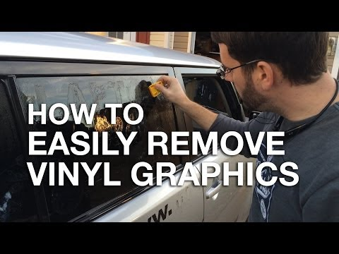 f19d034e09d How To Easily Remove Vinyl Graphics and Stickers from your Car or Truck -  YouTube