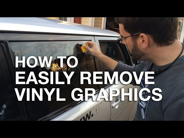 How To Remove Vinyl Wall Stickers And Decals Dengarden - A basic guide to vinyl signs   removal options
