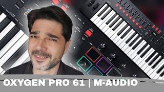 OXYGEN PRO 61 de M-AUDIO Teclado Controlador Midi | www.MUSISOL.com