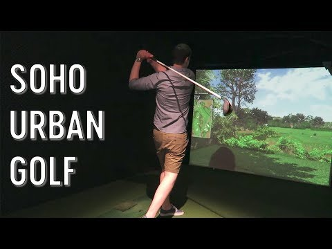 Urban Golf - Soho, London 2015
