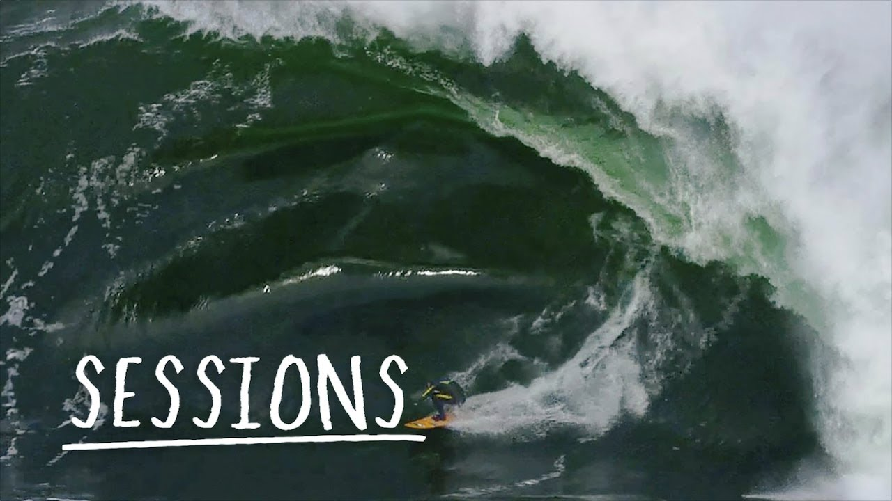 Download Russell Bierke Battles A Heavy Day At Shipstern Bluff | Sessions