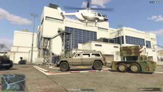 GTA 5 / MISIONES DE VEHICULOS ESPECIALES Remolque antiaéreo de Vom Feuer  / GTA V ONLINE