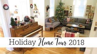 Christmas Home Tour 2018 | Thrifted Home Decor