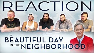 A Beautiful Day in the Neighborhood - Official Trailer REACTION!!