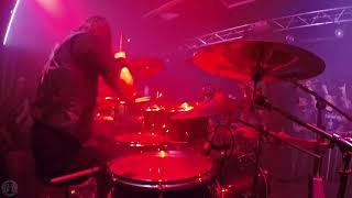 MARDUK@Werwolf-Fredrik Widigs-Live in Poland 2018 (Drum Cam)