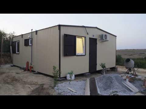 Комфортный дом 6х7.2м за один день