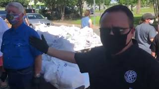 Food Mask Giveaway at Kenner City Park