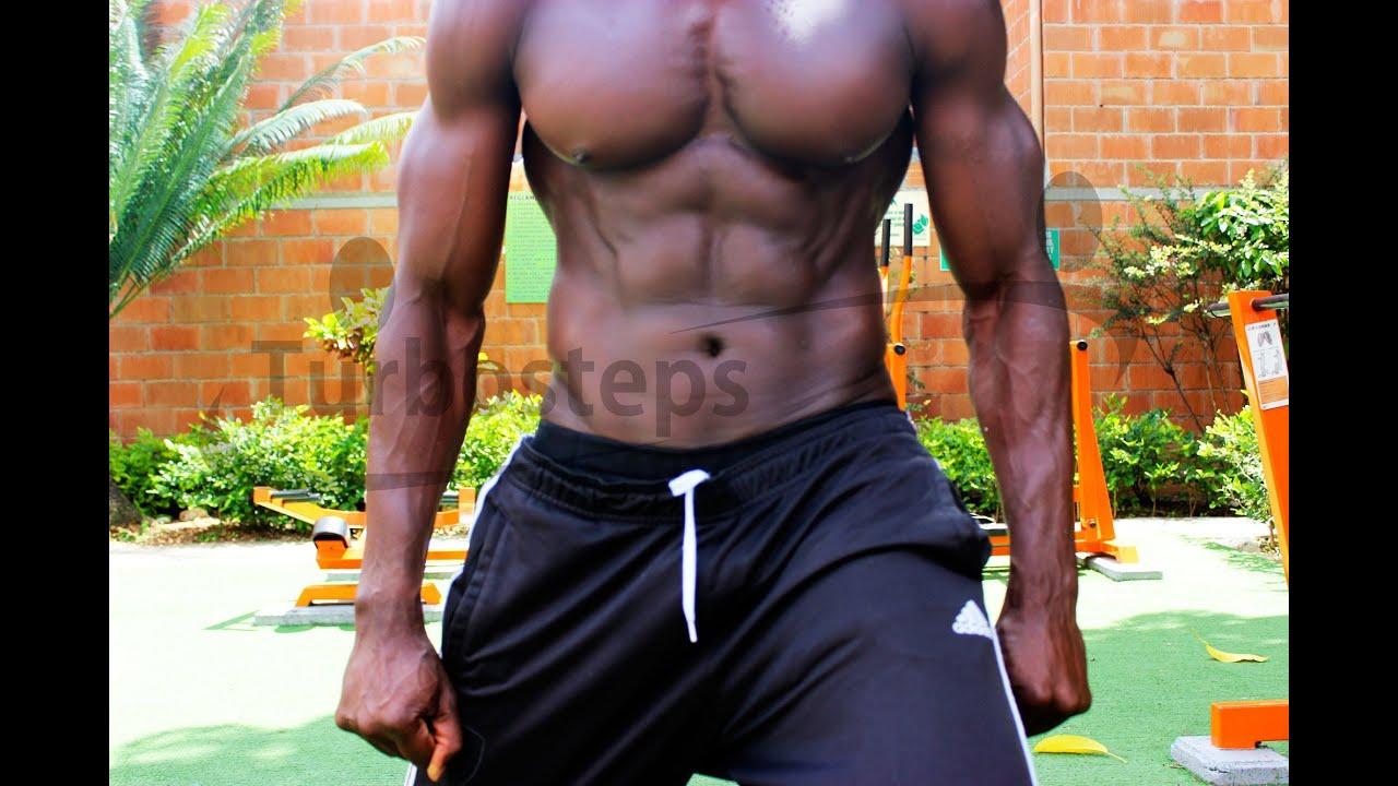 Rutina de ejercicios para adelgazar y tonificar hombres de negro