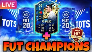 🔴 LIVE FIFA 20 🔴 - PACK OPENING TOTS SERIE A + FUT CHAMPIONS !!