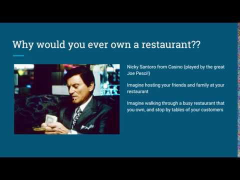How To Value A Restaurant Business
