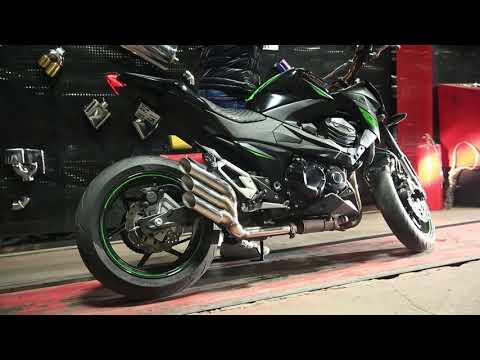 Kawasaki Z800 Motosiklet, Performans Egzoz Sesi