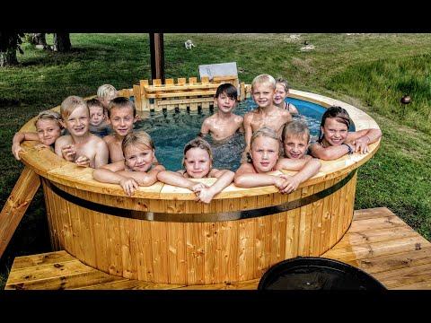 Sauna Extérieur De Jardin Pas Cher | Sauna Tonneau Finlandais à Vendre|  Fabriquer Un Sauna