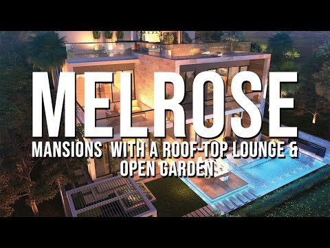 The Only Mansions in UAE with a Roof-Top Lounge & Open Garden | Melrose