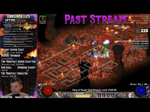 Diablo 2 - Baal Runs - Road to 98!! Deaths :(  07/13/2018