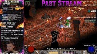Diablo 2 - Baal Runs - Road to 98!! Deaths :(  07/13/2018
