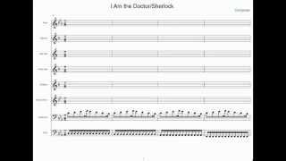 I Am the Doctor/Sherlock - Band Sheet Music