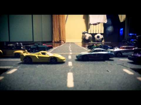 Fast and Furious: Street Race  w/ Hot wheels [Stop Motion]