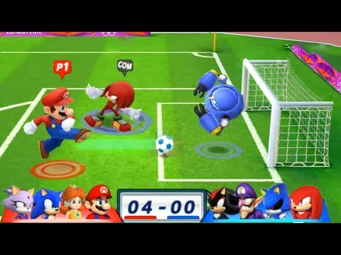 video clip hay mario amp sonic at the london 2012 olympic