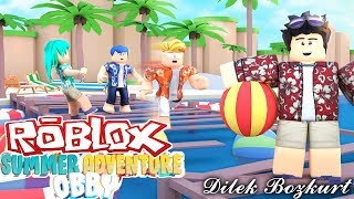 ESCAPE FROM SUMMER CAMP | Roblox Escape Summer Camp | Dilek Bozkurt