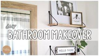 DIY DOs and DON'Ts! 5 Step Bathroom Makeover
