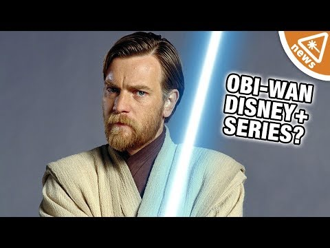 Ewan McGregor is Back as Obi-Wan Kenobi for a Disney+ Series?!? (Nerdist News w/ Maude Garrett)