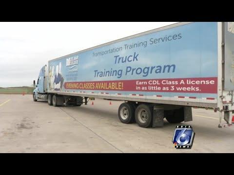 Transition program helps turn veterans into truck drivers