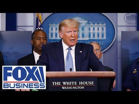 Trump Joins Coronavirus Task Force At White House Press Briefing | 4/7/20