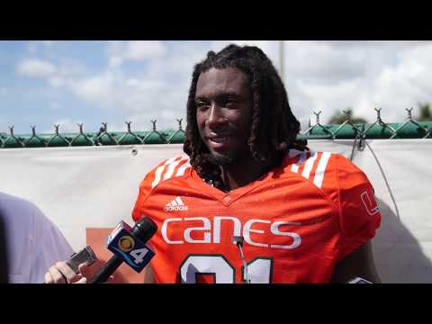 Darrell Langham | Post Practice Interview | 10.17.17