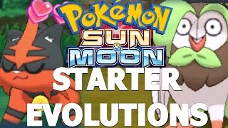 STARTER EVOLUTIONS, MEGA EVOLUTIONS & ASH-GRENINJA!? - Pokemon Sun & Moon News & Information!