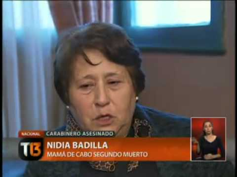 TV report about what happened on September 11, 2012 in Chile