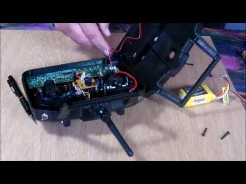 Modificando una radio HK-T6A V2 - 1/2