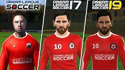 Evolution of Dream League Soccer trailers 2015 to 2019