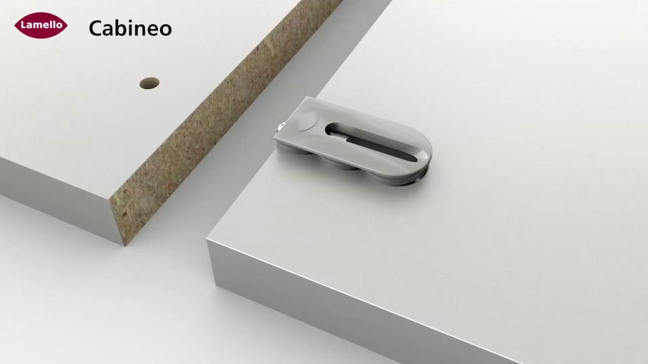 cabineo der neue cnc verbinder von lamello. Black Bedroom Furniture Sets. Home Design Ideas