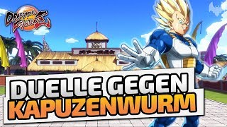 Duelle gegen Kapuzenwurm - ♠ Dragon Ball FighterZ ♠ - Deutsch German - Dhalucard