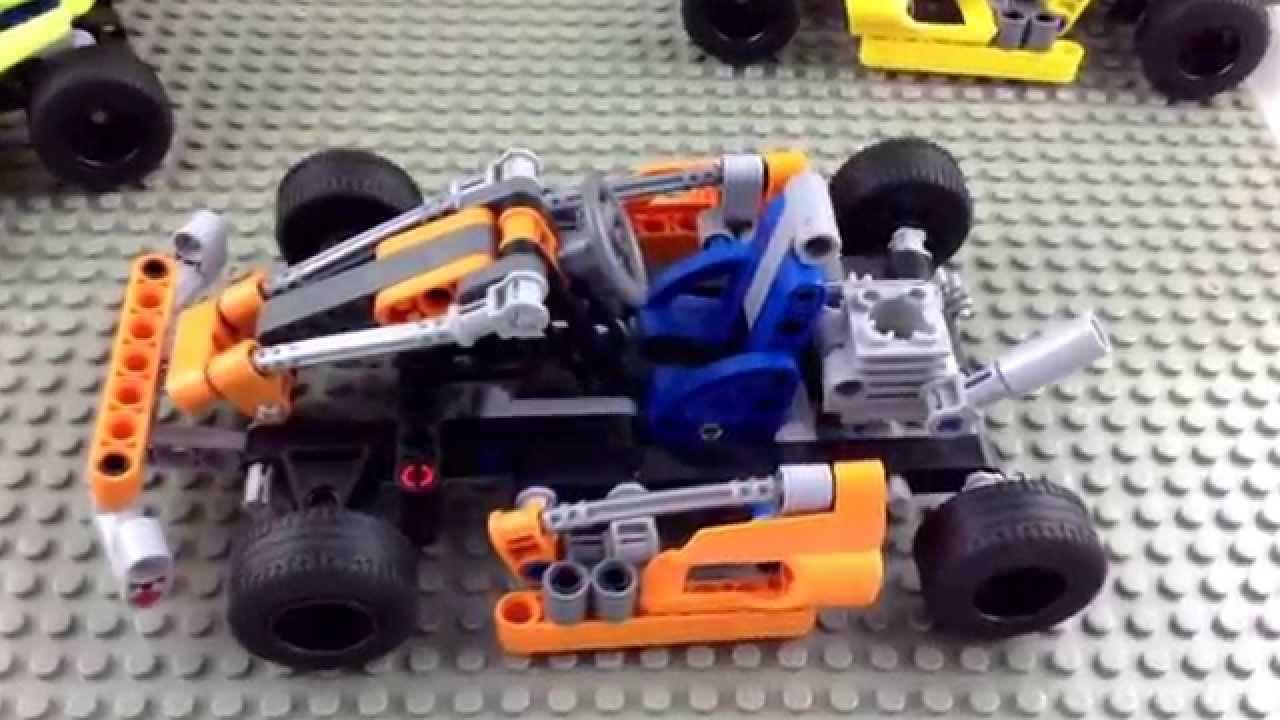 decool technic crash kart racing gokart model 3338 similar. Black Bedroom Furniture Sets. Home Design Ideas