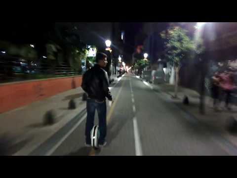 Downtown Buenos Aires on One Wheel