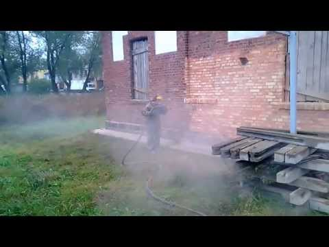 Sandblasting brick historic building restoration cleaning brick&stone