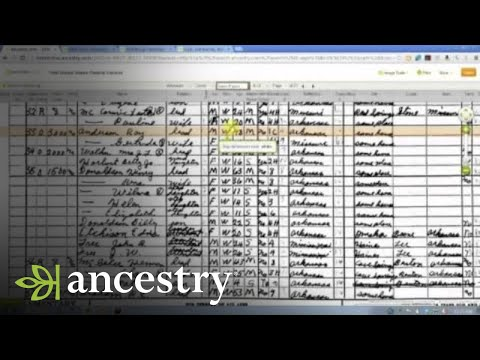 Browsing Records on Ancestry.com