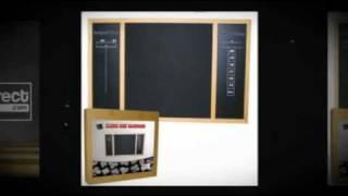 Classic Dart Blackboard Set & Wall Protector