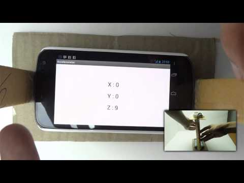 [Android Code] How accelerometer on android devices work