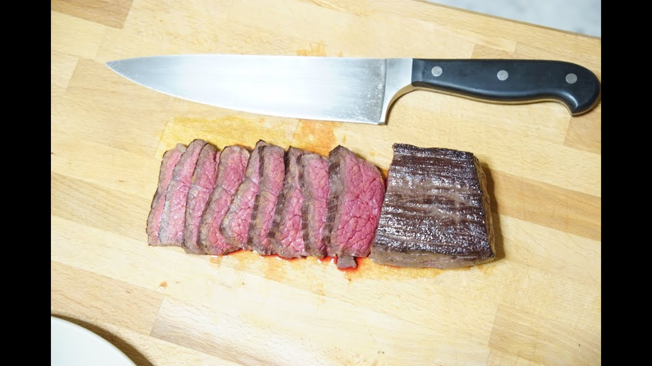 how to cook flank steak sous vide youtube. Black Bedroom Furniture Sets. Home Design Ideas